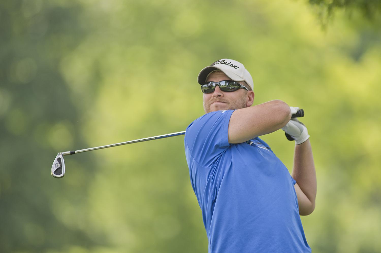 Golfer at Zollner